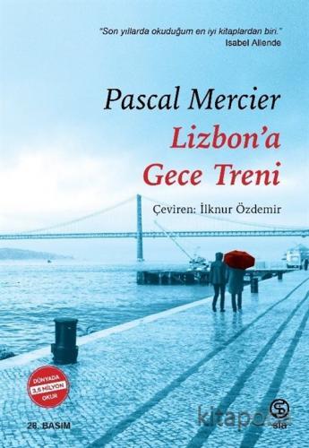 Lizbon'a Gece Treni - Pascal Mercier - kitapoba.com