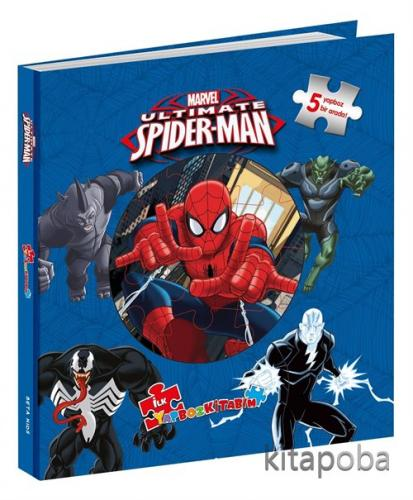 Marvel Ultimate Spider-Man: İlk Yapboz Kitabım - Kollektif - kitapoba.