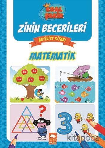 Matematik / Kral Şakir Zihin Becerileri Aktivite Kitabı - Varol Yaşaro