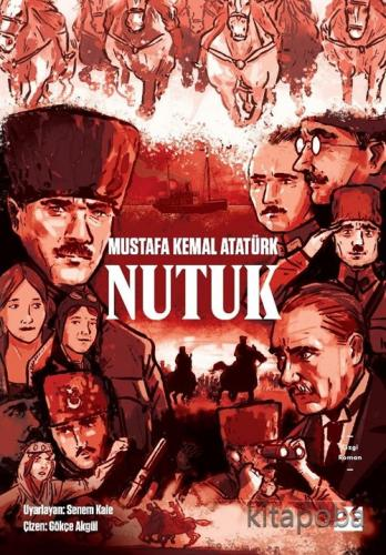 Nutuk (Çizgi Roman) - Mustafa Kemal Atatürk - kitapoba.com
