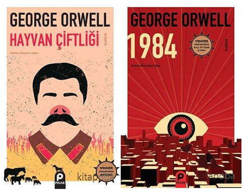 1984 / Hayvan Çiftliği - George Orwell - kitapoba.com