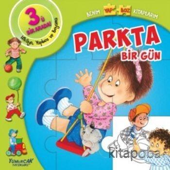 Parkta Bir Gün / Benim Yapboz Kitaplarım - Kollektif - kitapoba.com