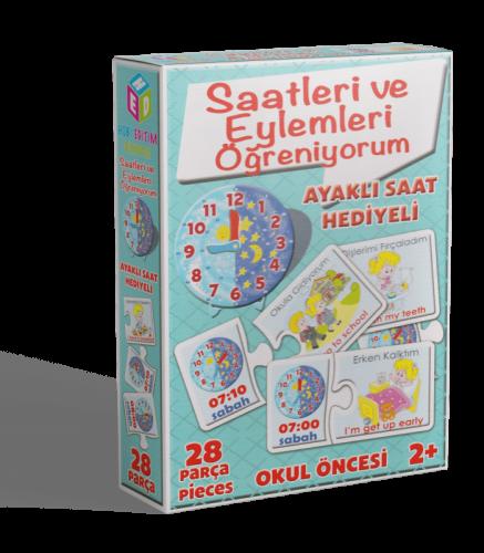 SAAT EYLEMLERİ ÖĞREN. K. OYUNU - - kitapoba.com