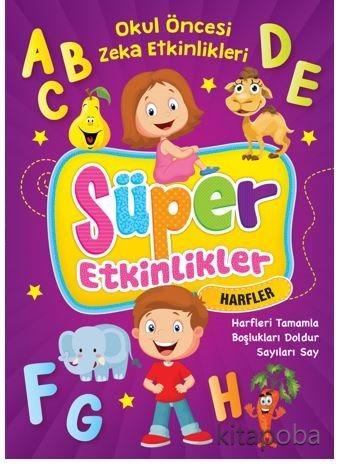 Süper Etkinlikler - Harfler - Komisyon - kitapoba.com
