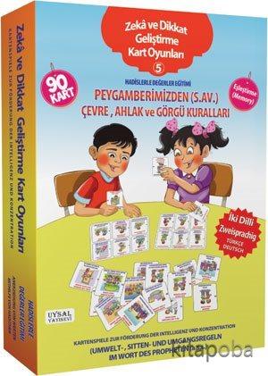 Zeka ve Dikkat Geliştirme Kart Oyunları -5 / Hadislerle Değerler Eğiti