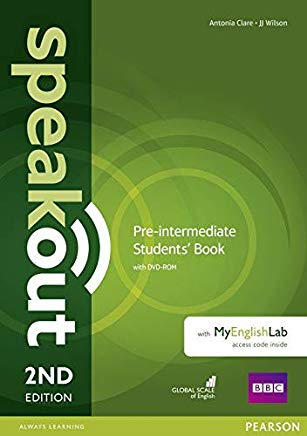 Speakout 2nd Ed. P-Int SB w/ DVD & MyEnglishLab
