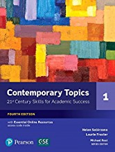 CONTEMPORARY TOPICS 4/E SB 1