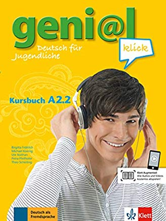 GENIAL KLICK TEILBAND A2.2 Kursbuch/MP3 Download