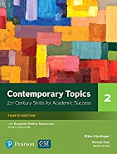 CONTEMPORARY TOPICS 4/E SB 2