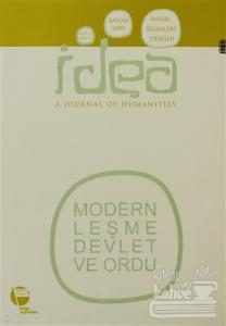 İdea Cilt: 1 Sayı: 1 İnsan Bilimleri Dergisi / A Journal of Humanities