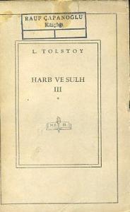 Harb ve Sulh 3. Cilt