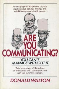 Are You Communicating?