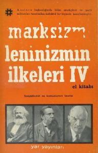 Marksizm Leninizmin İlkeleri 4