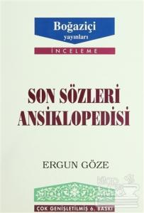 Son Sözleri Ansiklopedisi