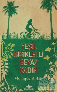 Yeşil Bisikletli Beyaz Kadın