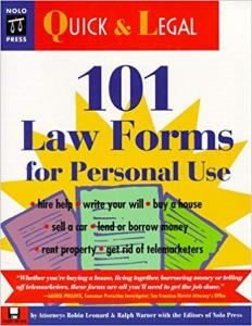 101 Law Forms for Personal Use Kolektif