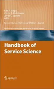 Handbook of Service Science