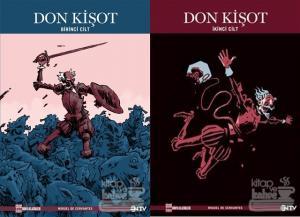 Don Kişot İki Cilt Takım Çizgi Roman