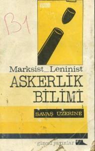 Marksist Leninist Askerlik Bilimi Savaş Üzerine
