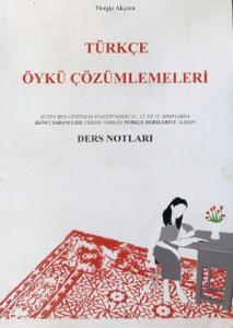 Türkçe Öykü Çözümlemeleri