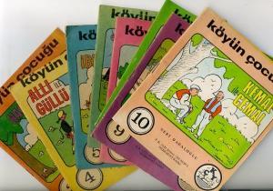 Köyün Çocuğu Okuma Kitapları 3 - 10 Nebi Dadaloğlu