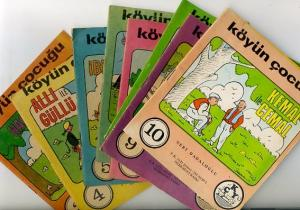 Köyün Çocuğu Okuma Kitapları 3 - 10