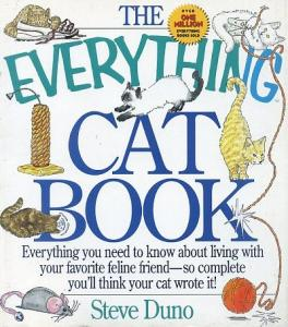 The Everything Cat Book Steve Duno