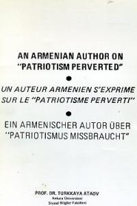 An Armenian Author On Patriotism Perverted
