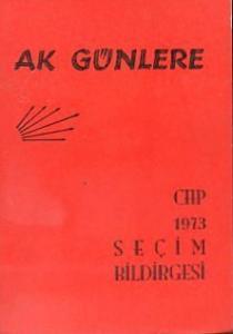 CHP 1973 Seçim Bildirgesi