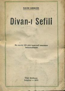 Divan-ı Sefili