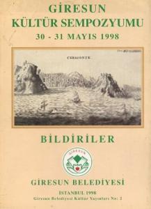 Giresun Tarihi Sempozyumu 30 31 Mayıs 1998