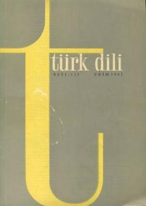 Türk Dili 121 Temmuz 1961