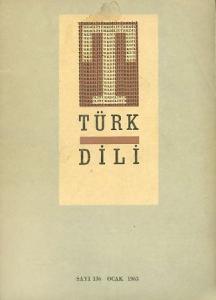Türk Dili 136 Ocak 1963