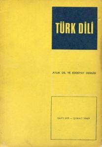 Türk Dili 209 Şubat 1969