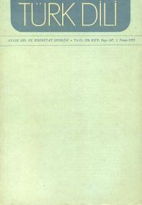 Türk Dili 247 Nisan 1972