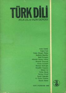 Türk Dili 377 Mayıs 1983