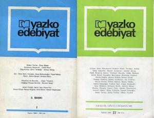 Yazko Edebiyat Set 37 Sayı 1 - 37