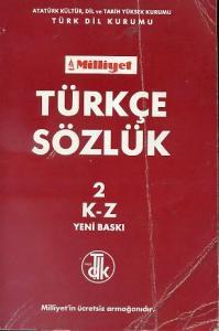 Türkçe Sözlük 2 K - Z