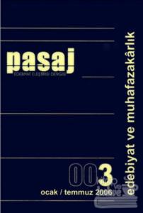 Pasaj Edebiyat Eleştiri Dergisi Sayı: 3