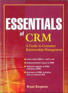 Essentials of CRM
