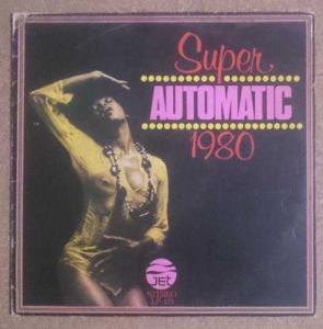 Super Automatic 1980 - Jet Stereo LP 125 - Plak Kabı
