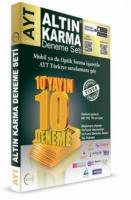 Altın Karma AYT Deneme Seti 10 Farklı Yayın 10 Farklı Deneme-YENİ