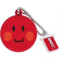 Emtec SW102 8GB USB Bellek Smiley Red