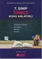 Esen 7. Sınıf Türkçe Konu Anlatımlı-YENİ