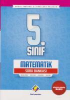 Final 5. Sınıf Matematik Soru Bankası-GÜNCEL YENİ