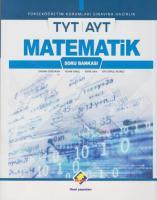 Final TYT AYT Matematik Soru Bankası-YENİ