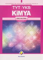 Final TYT-YKS Kimya Konu Anlatımlı