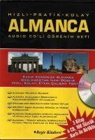 Hızlı Pratik Kolay Almanca Audio CD'li Öğrenim Set
