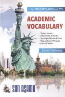 İrem Academic Vocabulary