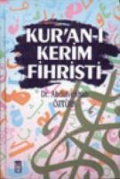 Kuranı Kerim Fihristi